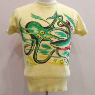 <img class='new_mark_img1' src='//img.shop-pro.jp/img/new/icons41.gif' style='border:none;display:inline;margin:0px;padding:0px;width:auto;' />【20%off】Summer Knit [Octopus]