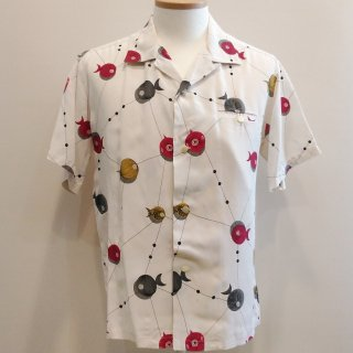 <img class='new_mark_img1' src='//img.shop-pro.jp/img/new/icons41.gif' style='border:none;display:inline;margin:0px;padding:0px;width:auto;' />【30%off】Atomic Fish Open Shirt