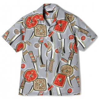 <img class='new_mark_img1' src='//img.shop-pro.jp/img/new/icons6.gif' style='border:none;display:inline;margin:0px;padding:0px;width:auto;' />Katana Cotton Shirt