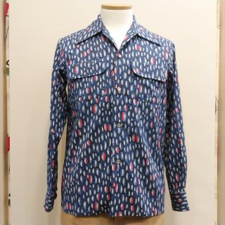 <img class='new_mark_img1' src='//img.shop-pro.jp/img/new/icons6.gif' style='border:none;display:inline;margin:0px;padding:0px;width:auto;' />Vintage Atomic Style Box Shirt