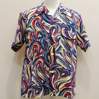 <img class='new_mark_img1' src='//img.shop-pro.jp/img/new/icons41.gif' style='border:none;display:inline;margin:0px;padding:0px;width:auto;' />【20%off】Vintage Atomic Style Box Shirt Cotton Shirt