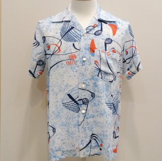 Vintage Atomic Style Box Shirt