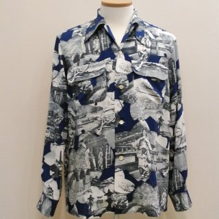 Vintage Japanese Style Box Shirt