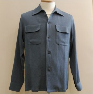 <img class='new_mark_img1' src='//img.shop-pro.jp/img/new/icons6.gif' style='border:none;display:inline;margin:0px;padding:0px;width:auto;' />New Vintage Box Rayon Shirt Crepe L/S