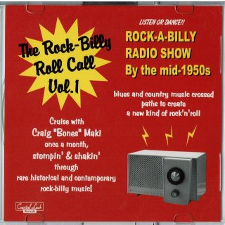 VARIOUS / THE ROCK-BILLY ROLL CALL VOL. 1