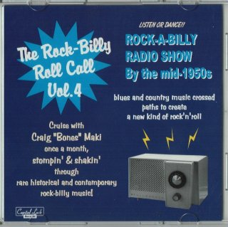 VARIOUS / THE ROCK-BILLY ROLL CALL VOL. 4