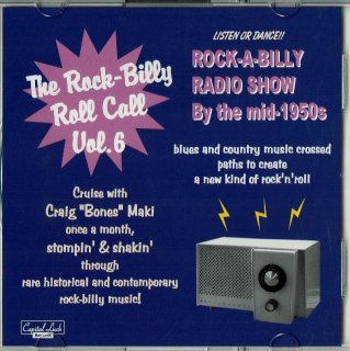 VARIOUS / THE ROCK-BILLY ROLL CALL VOL. 6