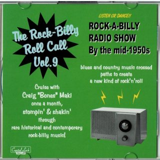 VARIOUS / THE ROCK-BILLY ROLL CALL VOL. 9