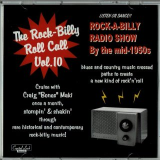 VARIOUS / THE ROCK-BILLY ROLL CALL VOL. 10