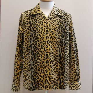 <img class='new_mark_img1' src='//img.shop-pro.jp/img/new/icons20.gif' style='border:none;display:inline;margin:0px;padding:0px;width:auto;' />Style Eyes Leopard Velveteen L/S Shirt