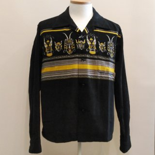 <img class='new_mark_img1' src='//img.shop-pro.jp/img/new/icons6.gif' style='border:none;display:inline;margin:0px;padding:0px;width:auto;' />Style Eyes Corduroy Shirt African Mask
