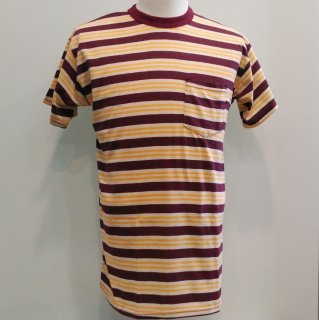 Pocket T-shirt Red Stripes