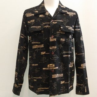 <img class='new_mark_img1' src='//img.shop-pro.jp/img/new/icons6.gif' style='border:none;display:inline;margin:0px;padding:0px;width:auto;' />Style Eyes Corduroy Shirt Atomic