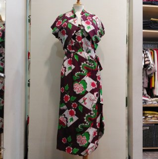 <img class='new_mark_img1' src='//img.shop-pro.jp/img/new/icons6.gif' style='border:none;display:inline;margin:0px;padding:0px;width:auto;' />1940's Vintage Style Hawaiian Bolero Dress