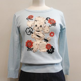 <img class='new_mark_img1' src='//img.shop-pro.jp/img/new/icons6.gif' style='border:none;display:inline;margin:0px;padding:0px;width:auto;' />Poodle All Keyed Up Over You Sweater