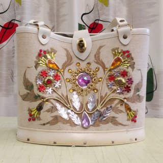 1960s  Vintage Jewel Tone bag