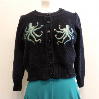 <img class='new_mark_img1' src='//img.shop-pro.jp/img/new/icons6.gif' style='border:none;display:inline;margin:0px;padding:0px;width:auto;' />The Waltz Of The Octopus cardigan