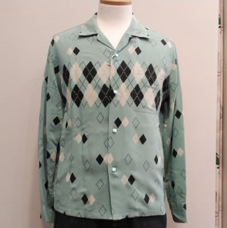 <img class='new_mark_img1' src='//img.shop-pro.jp/img/new/icons6.gif' style='border:none;display:inline;margin:0px;padding:0px;width:auto;' />Argyle Open Shirt