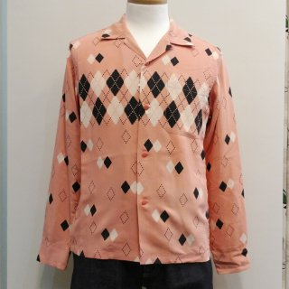 <img class='new_mark_img1' src='//img.shop-pro.jp/img/new/icons6.gif' style='border:none;display:inline;margin:0px;padding:0px;width:auto;' />Argyle Open Shirt L/S