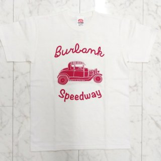 "<img class='new_mark_img1' src='//img.shop-pro.jp/img/new/icons6.gif' style='border:none;display:inline;margin:0px;padding:0px;width:auto;' />""Burbank Speedway"" Print T-Shirt"
