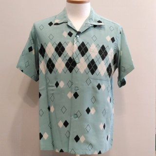 "<img class='new_mark_img1' src='//img.shop-pro.jp/img/new/icons6.gif' style='border:none;display:inline;margin:0px;padding:0px;width:auto;' />High Density Rayon Open Shirt ""ARGYLE"" S/S"