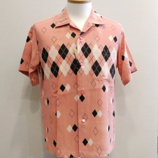 "<img class='new_mark_img1' src='//img.shop-pro.jp/img/new/icons6.gif' style='border:none;display:inline;margin:0px;padding:0px;width:auto;' />High Density Rayon Open Shirt ""ARGYLE"""
