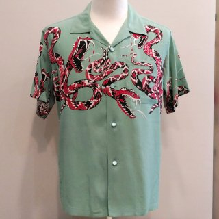 "<img class='new_mark_img1' src='//img.shop-pro.jp/img/new/icons20.gif' style='border:none;display:inline;margin:0px;padding:0px;width:auto;' />High Density Rayon Open Shirt ""RATTLE SNAKE"" S/S"