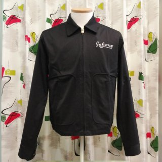 <img class='new_mark_img1' src='//img.shop-pro.jp/img/new/icons6.gif' style='border:none;display:inline;margin:0px;padding:0px;width:auto;' />Vintage Wild One Style Cotton Black Jacket B.R.M.C