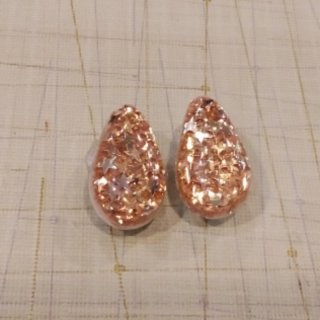 50's Vintage Glitter Earrings
