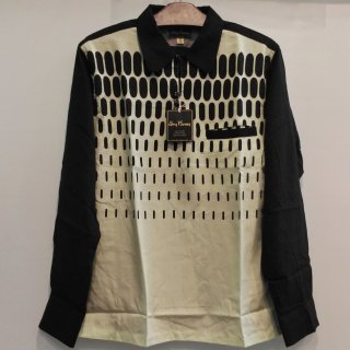 "2tone Pullover Shirt ""IRREGULAR DOT"""