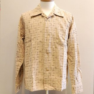 "Style Eyes Corduroy Shirt ""Splashed Pattern"""