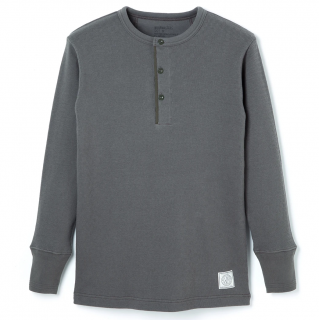<img class='new_mark_img1' src='//img.shop-pro.jp/img/new/icons6.gif' style='border:none;display:inline;margin:0px;padding:0px;width:auto;' />Henley Neck Thermal -Gray-