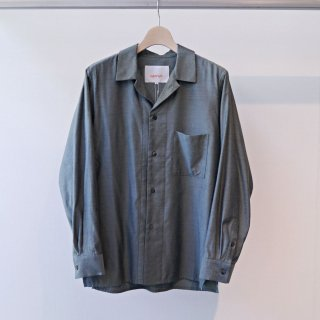 CITY / C/R/S open collar shirt