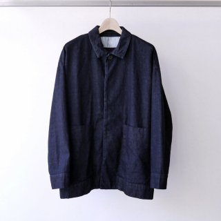 Dulcamara / denim big pocket blouson