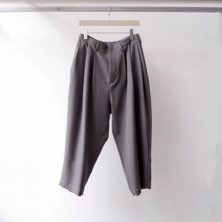 Dulcamara / yosoiki 3tuck wide pants (gray)