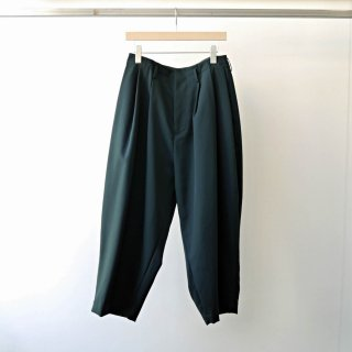 Dulcamara / yosoiki 3tuck wide pants (dark green)
