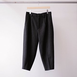Dulcamara / refine 1tuck pants (bitter brown)