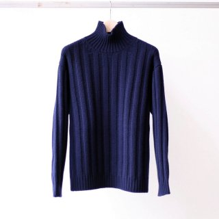 bunt / 3G GREAT GRANDFATHER SWEATER (NAVY)