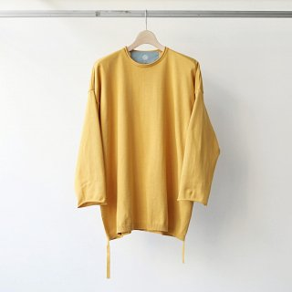 Dulcamara / side cord knit pullover (yellow)