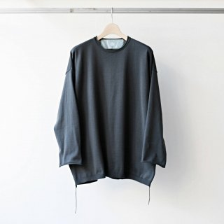 Dulcamara / side cord knit pullover (dark green)