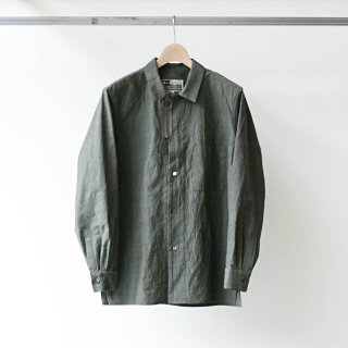 CITY / cotton ramie shirts jacket (sand)