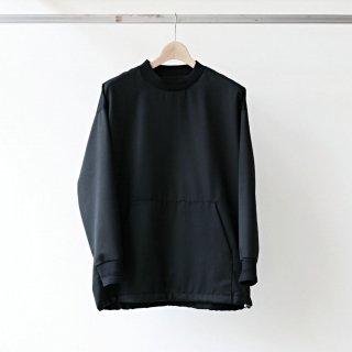 Dulcamara / yosoiki kangaroo pullover (black)
