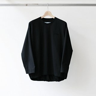 Dulcamara / balloon long tee (black)