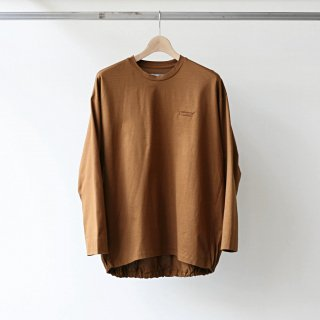 Dulcamara / balloon long tee (cinnamon)