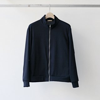 LAMOND / basque rib blouson (d.navy)
