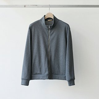 LAMOND / basque rib blouson (charcoal)