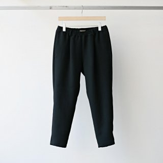 LAMOND / high density satin pants (black)