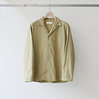 bunt - l/s open collar shirts