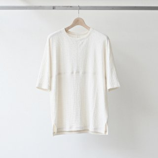 CITY / city linen football kimono tee (off)