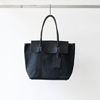 20/80 - canvas #4 steamer tote bag (black)